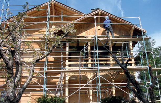 Sablage ETS Gibert en Ardèche